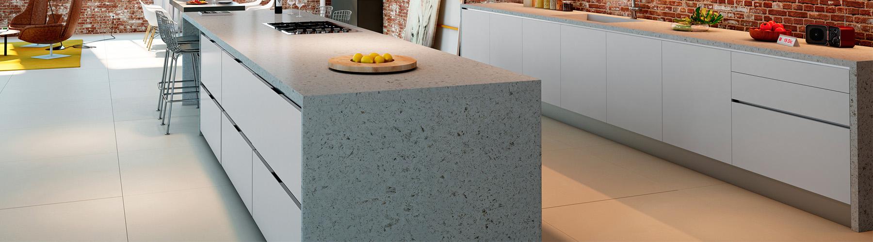 Ice concrete ny collection - Compac colores encimeras ...