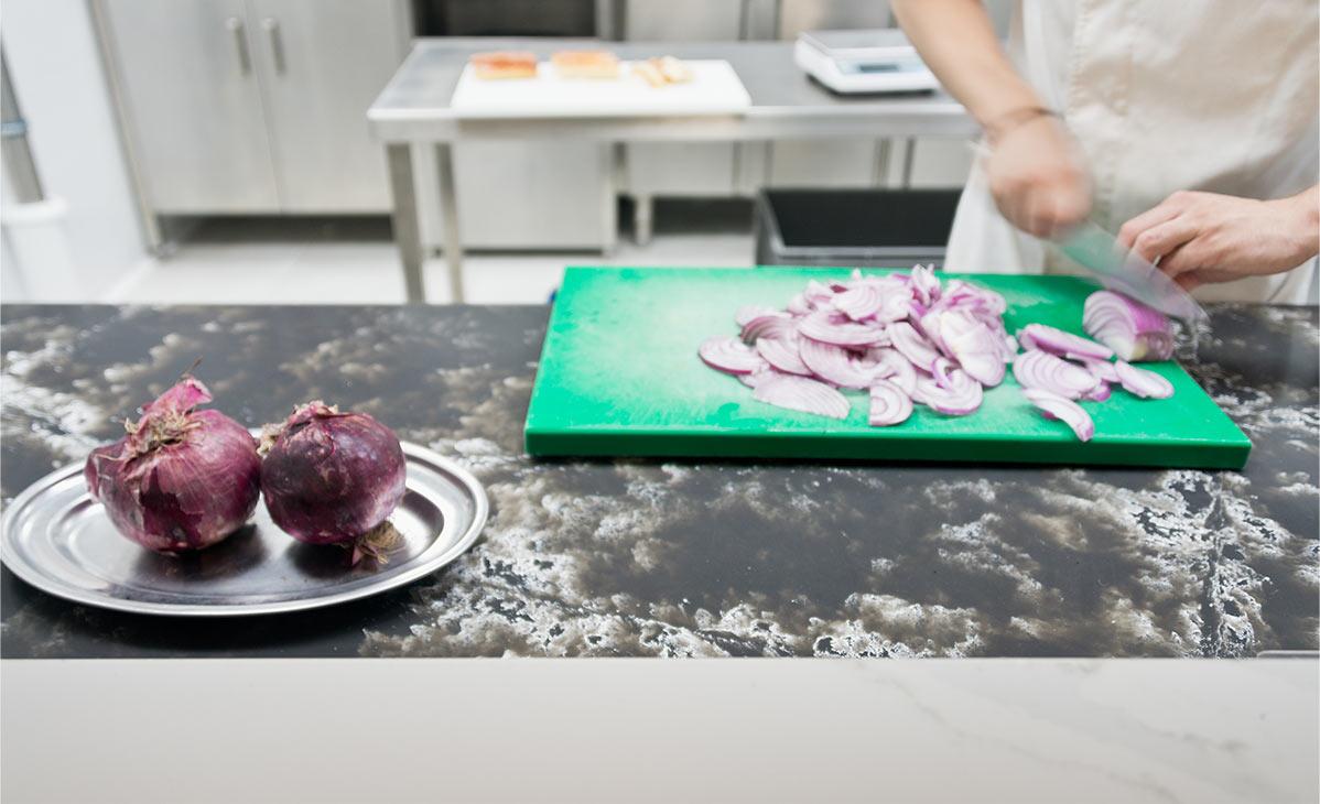 Ice Black en la cocina del Palau Alameda